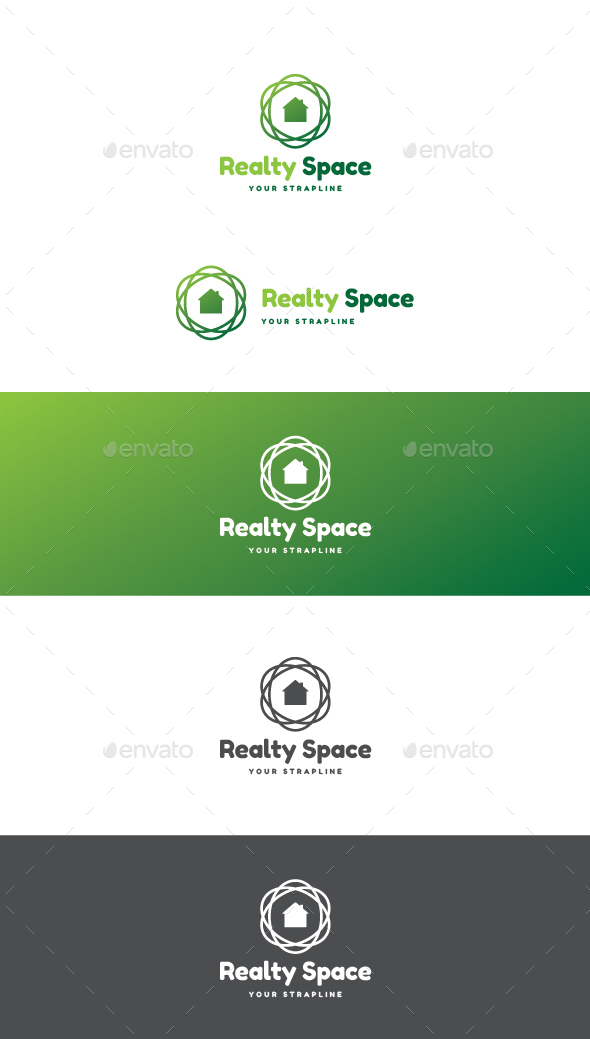 Realty Space Logo - Buildings Logo Templates