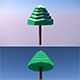 Low Poly Tree - 6 - 3DOcean Item for Sale