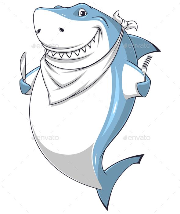 White Shark - Animals Characters