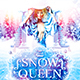 Snow Queen Party Flyer - GraphicRiver Item for Sale