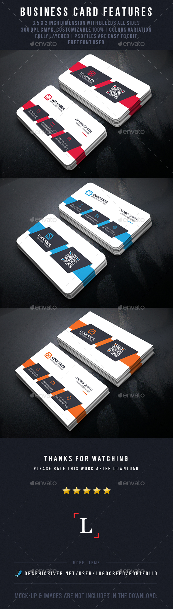 Reality Corporate Business Card - Business Cards Print Templates