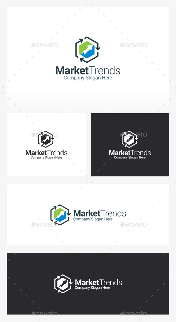 Marketing - Symbols Logo Templates
