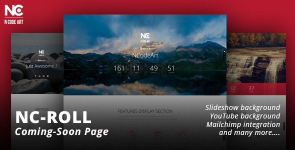 NC-Roll Coming-Soon Page - Under Construction Specialty Pages