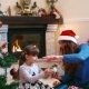 Sisters Decorating Christmas Tree - VideoHive Item for Sale