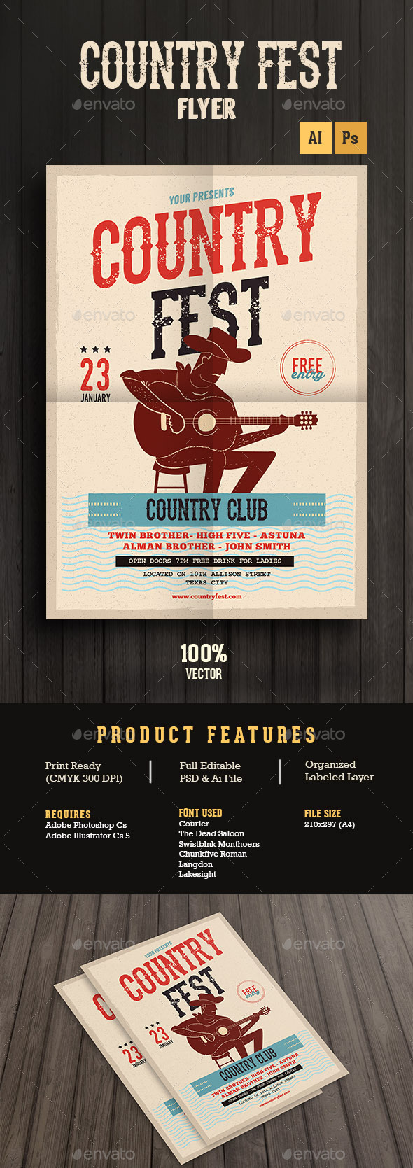 Country Music Festival - Concerts Events