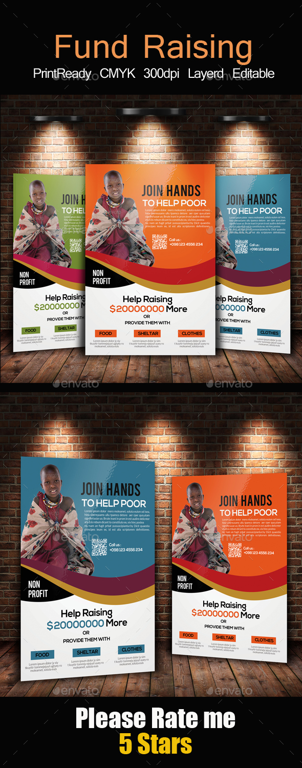 Charity & Donation Flyer Templates - Church Flyers