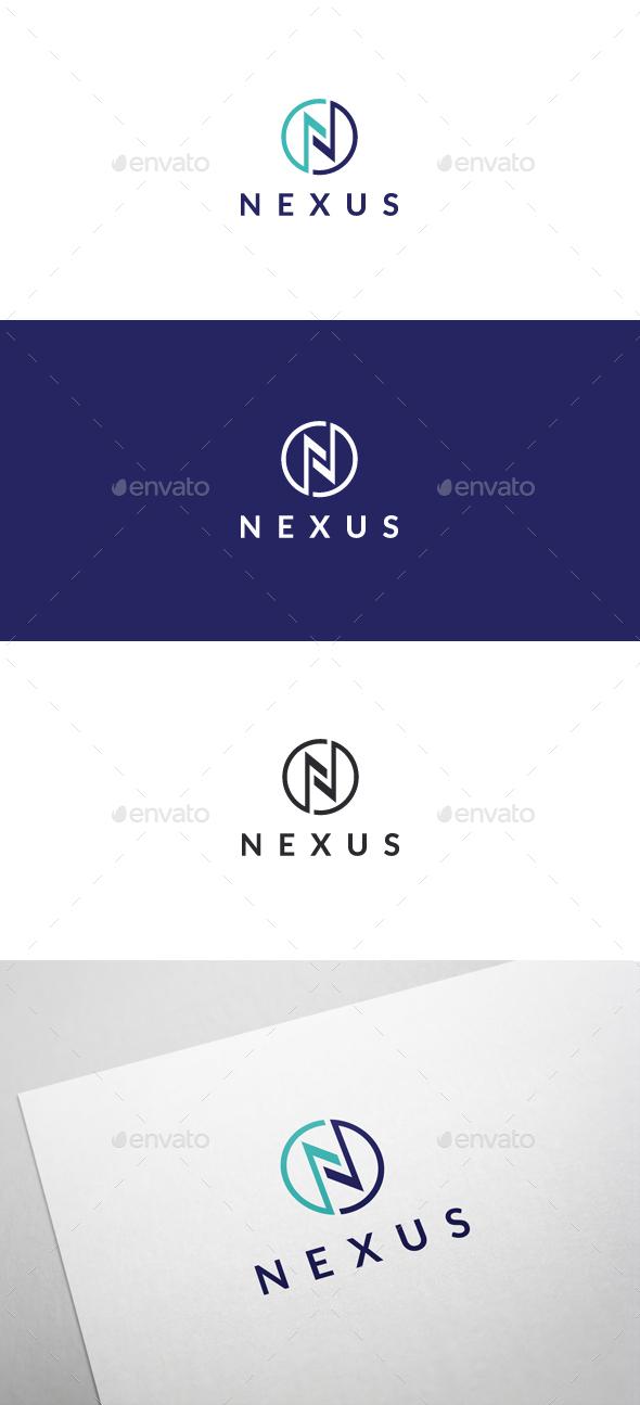 Nexus Logo Template - Letter N - Letters Logo Templates