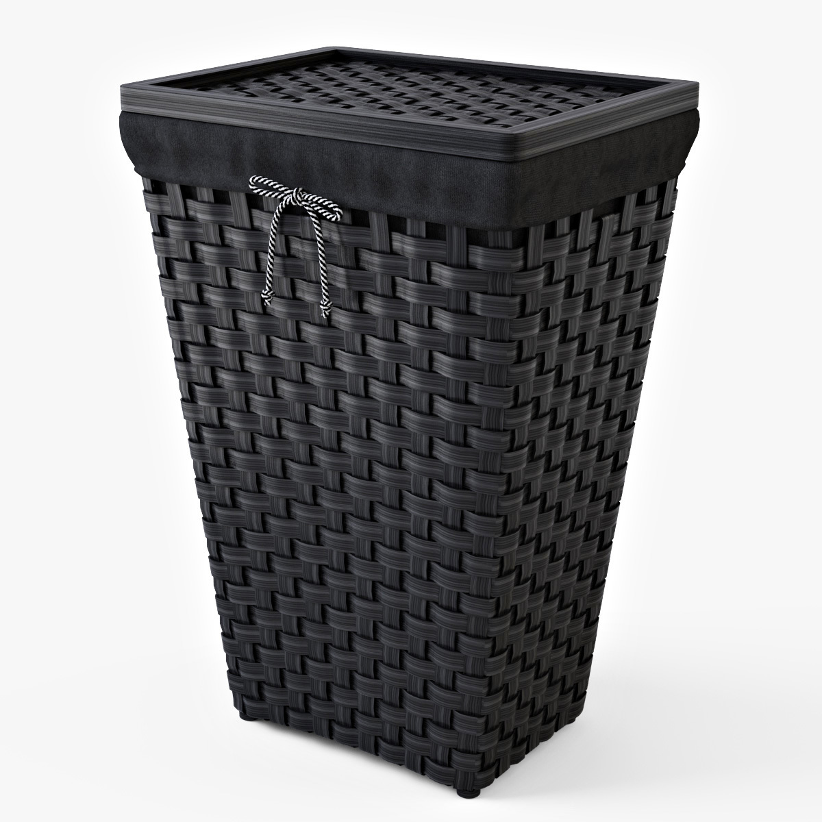 laundry basket ikea knarra by markelos 3docean. Black Bedroom Furniture Sets. Home Design Ideas