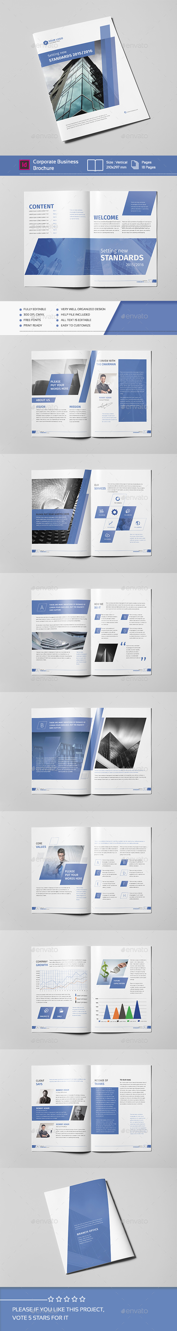 Corporate Business Brochure 18 Pages A4 V.02 - Corporate Brochures