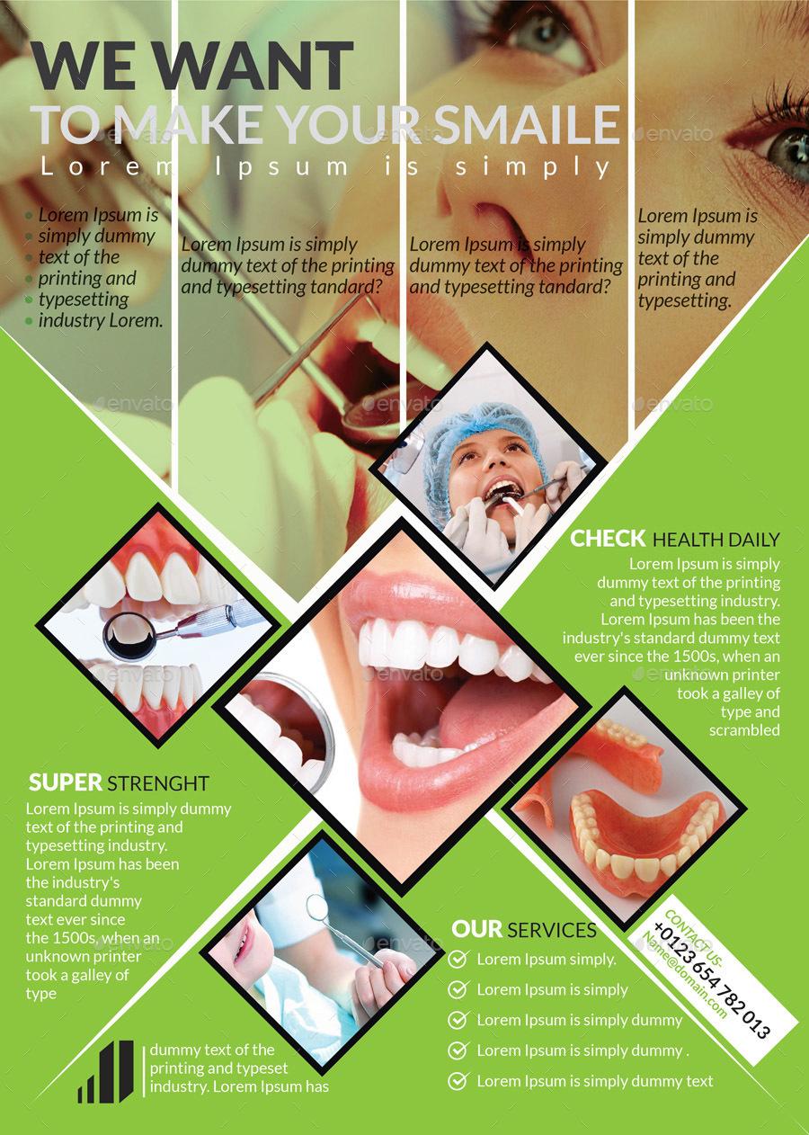 Dental Flyer Templates by sbanna71 | GraphicRiver