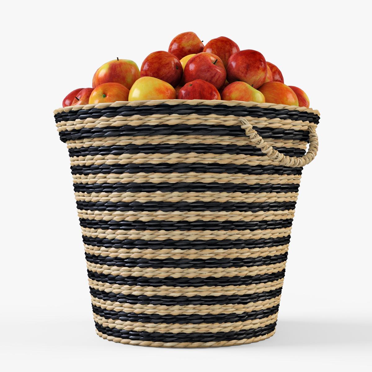 Wicker Apple Basket Ikea Maffens