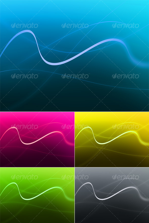 Abstract Swirls - Abstract Backgrounds