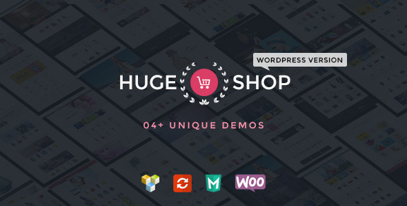 HugeShop – Wonderful Multi Concept WordPress Theme