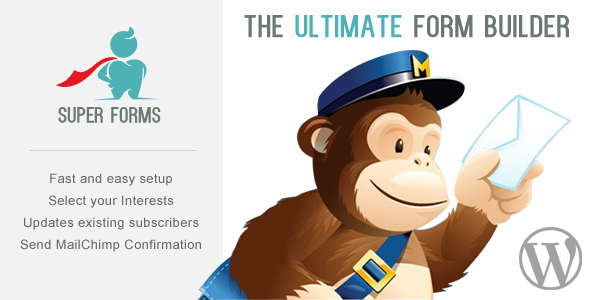 Super Forms - MailChimp Add-on - CodeCanyon Item for Sale