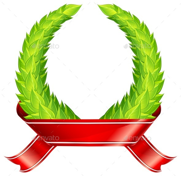 Green Wreaths  - Miscellaneous Vectors