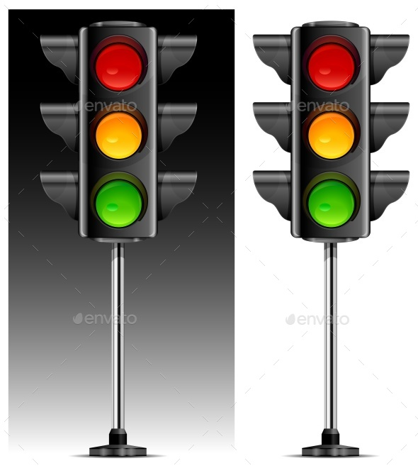 Traffic Lights  - Miscellaneous Vectors