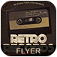 Retro Records Vol2 Flyer Poster - GraphicRiver Item for Sale
