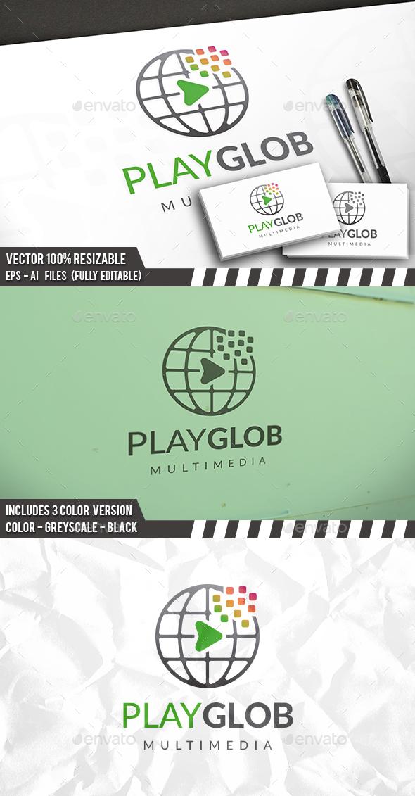 World Player Logo - Symbols Logo Templates