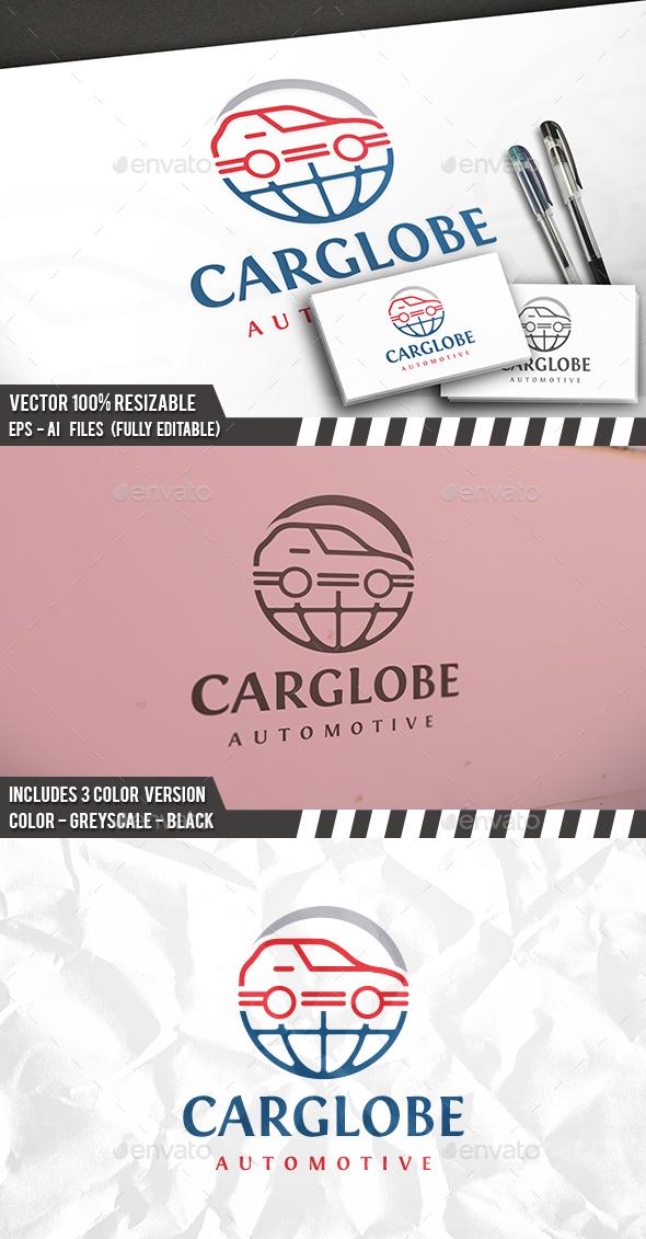 Global Car Logo - Objects Logo Templates