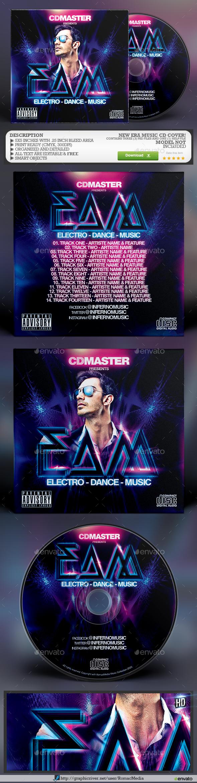 New Era Music CD Cover - CD & DVD Artwork Print Templates