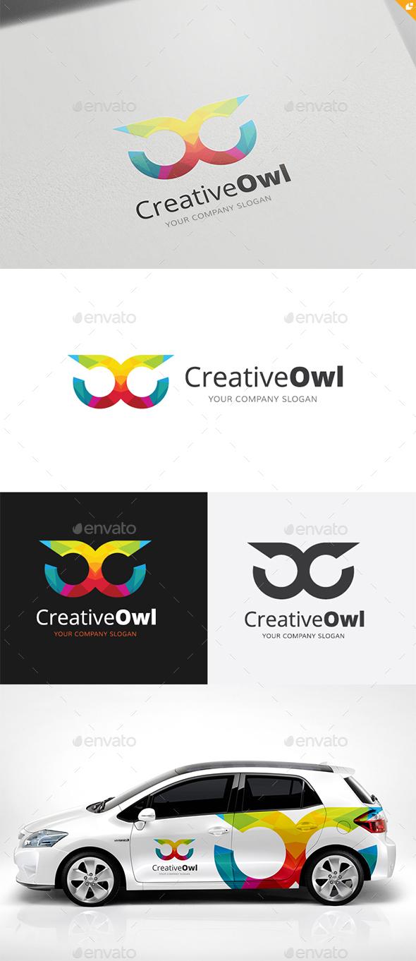 Creative Owl Logo - Animals Logo Templates