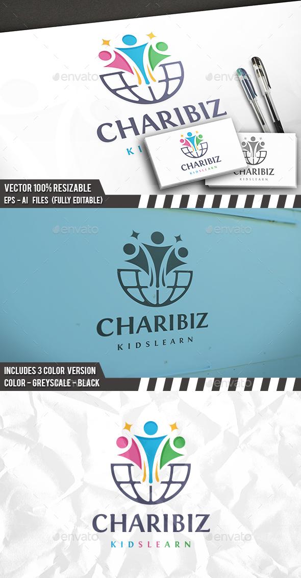 Global Kids Logo - Humans Logo Templates