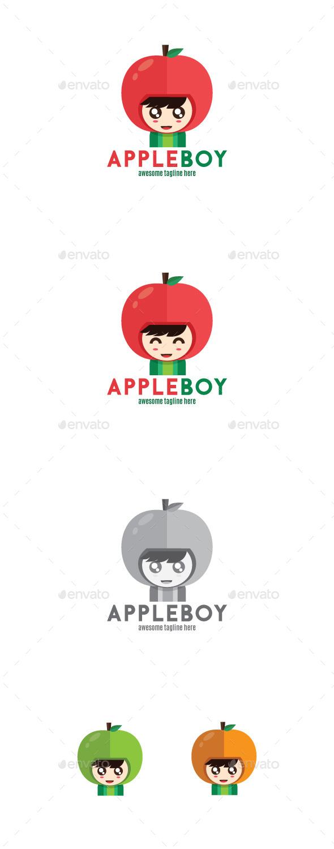 Appleboy Logo Mascot - Humans Logo Templates
