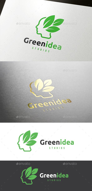 Green Idea Logo - Humans Logo Templates