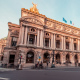 Paris Opera Garnier at Dusk - VideoHive Item for Sale