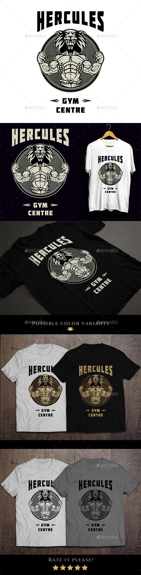 Hercules Gym T-shirt - Sports & Teams T-Shirts