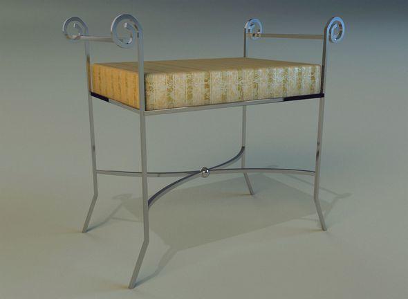 Banquette classic - 3DOcean Item for Sale