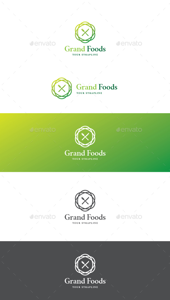 Grand Foods Logo - Food Logo Templates