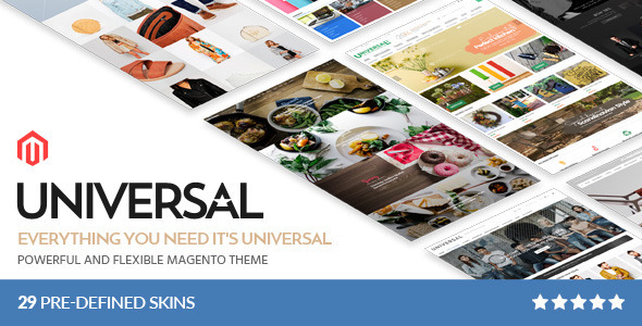 Universal - Multi-Purpose Responsive Magento 2.2 and Magento 1 Theme - Shopping Magento