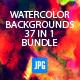 Artistic Watercolour & Background Designer Bundle