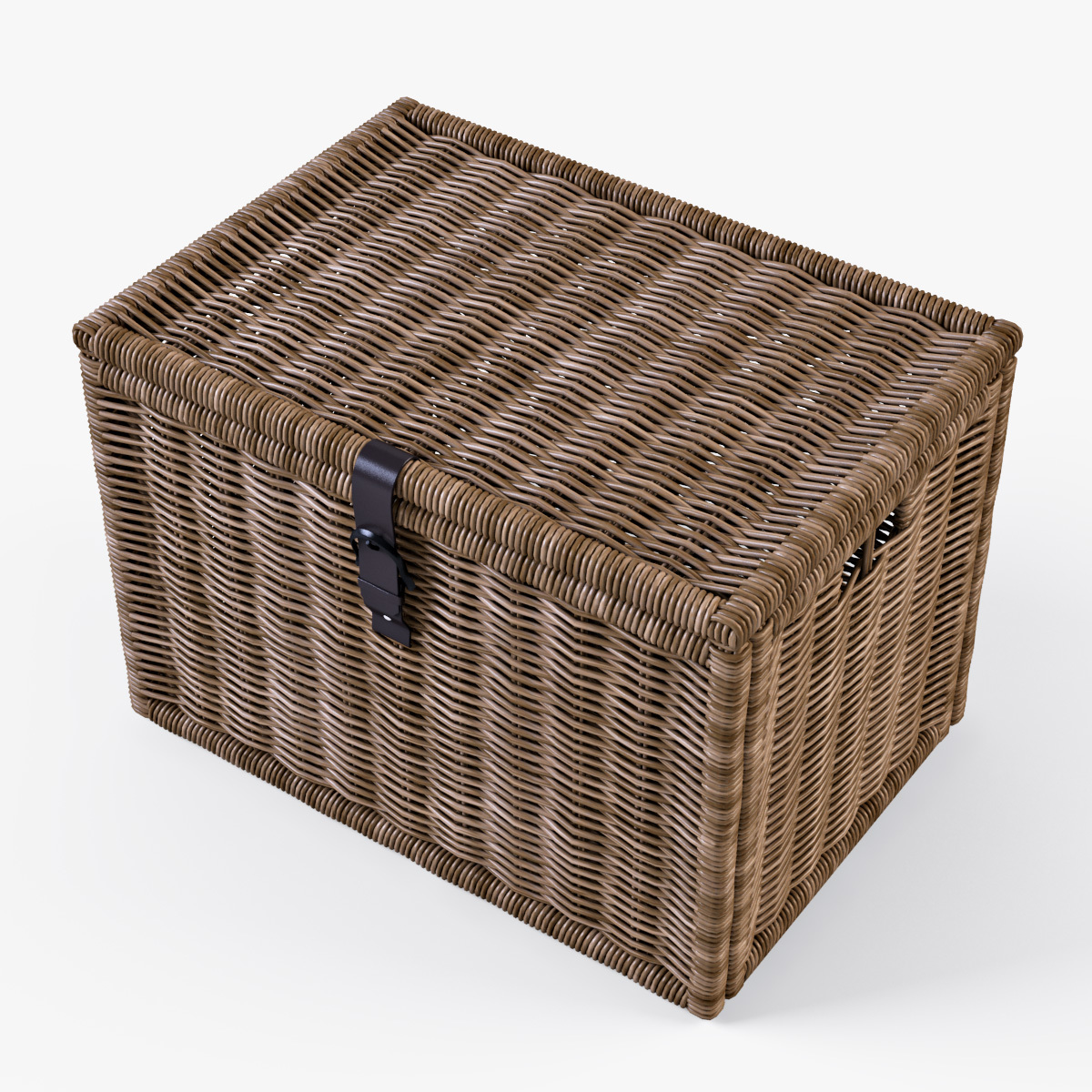 wicker rattan chest ikea byholma by markelos 3docean. Black Bedroom Furniture Sets. Home Design Ideas