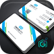 Circle Corporate Business Card - GraphicRiver Item for Sale