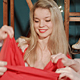 Women In Santa Claus Costumes Preparing A Gifts - VideoHive Item for Sale