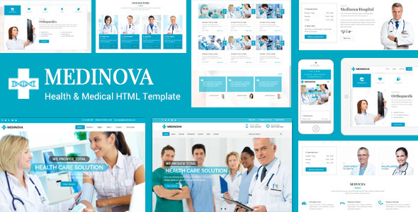Medinova – Health & Medical HTML Template