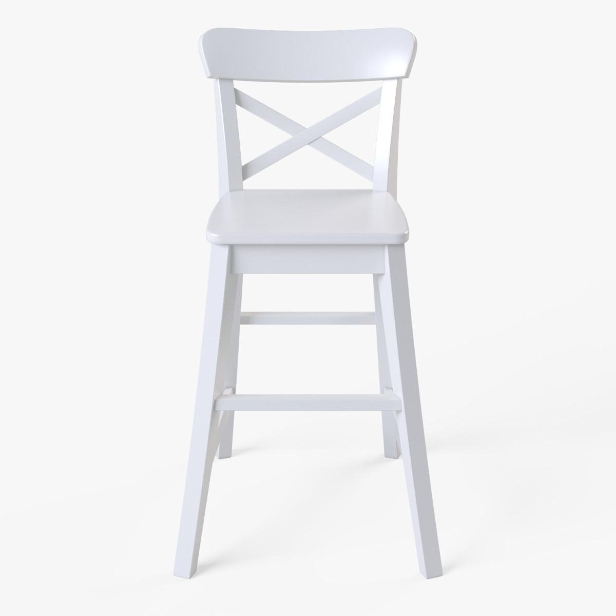 Junior Chair Ikea Ingolf White