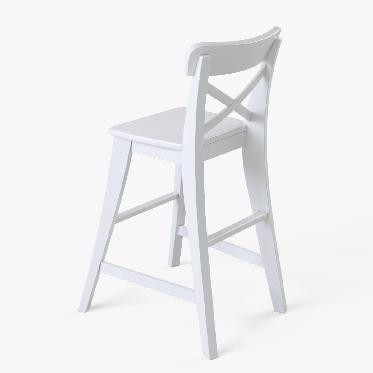 Wondrous Junior Chair Ikea Ingolf White Andrewgaddart Wooden Chair Designs For Living Room Andrewgaddartcom