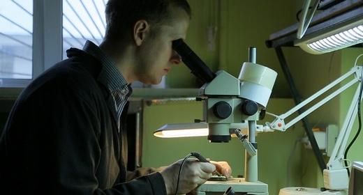 Scientist in the laboratory
