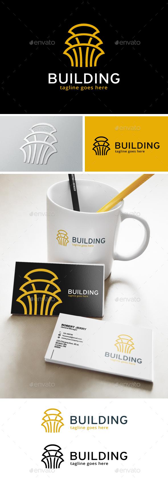 Building Logo - Abstract Logo Templates