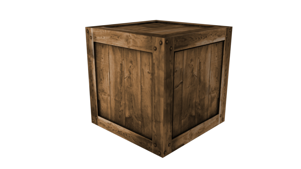 Wooden crate by fiveaxiomsinc 3docean for Timber crates