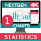 Download 4K NextGen Resizable Statistics Charts Pack One from VideHive