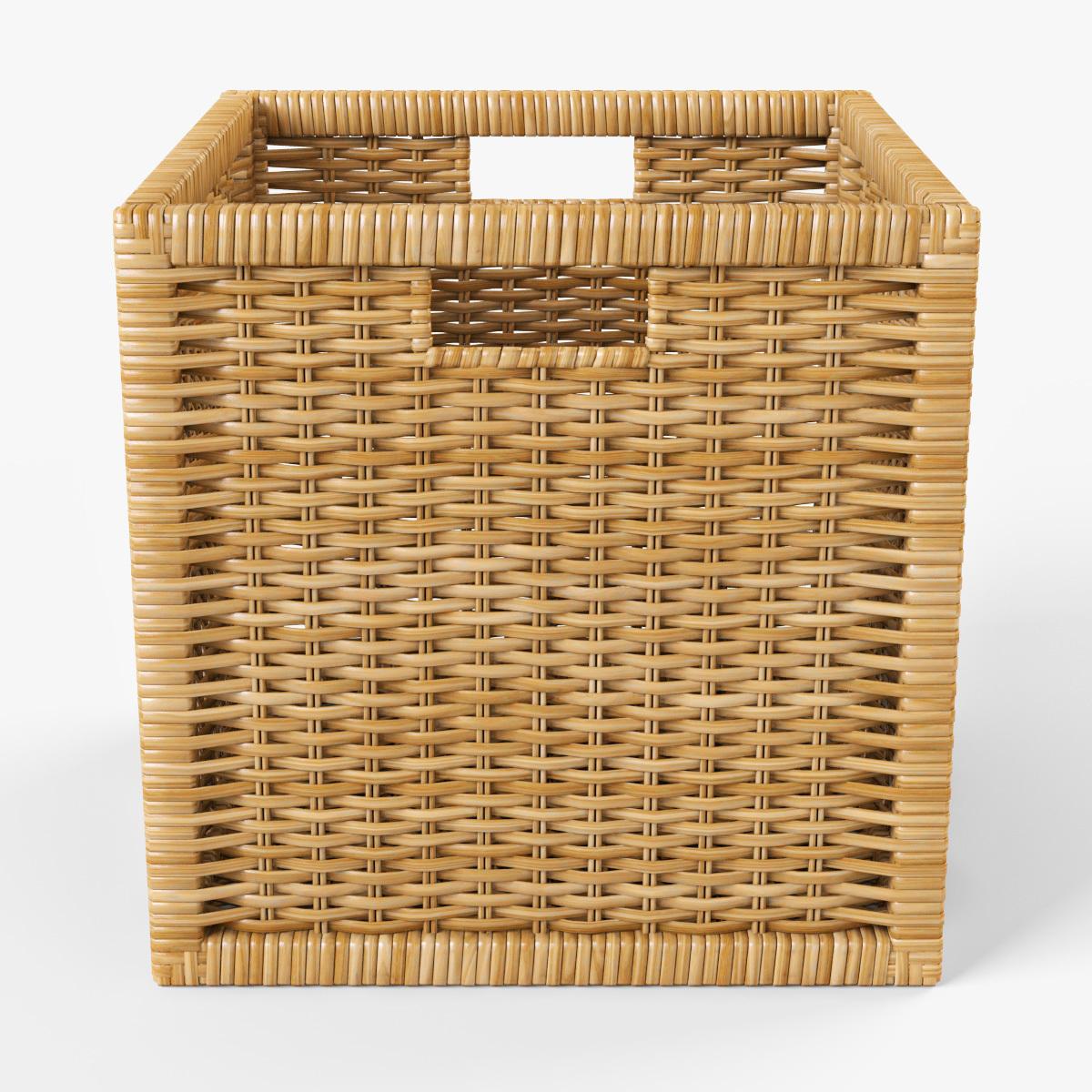 Ikea Wicker Hamper Simple Collapsible Laundry Basket Wicker  # Ikea Banc Bas