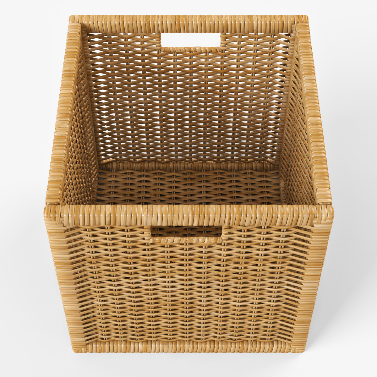 rattan basket ikea branas natural color by markelos 3docean. Black Bedroom Furniture Sets. Home Design Ideas