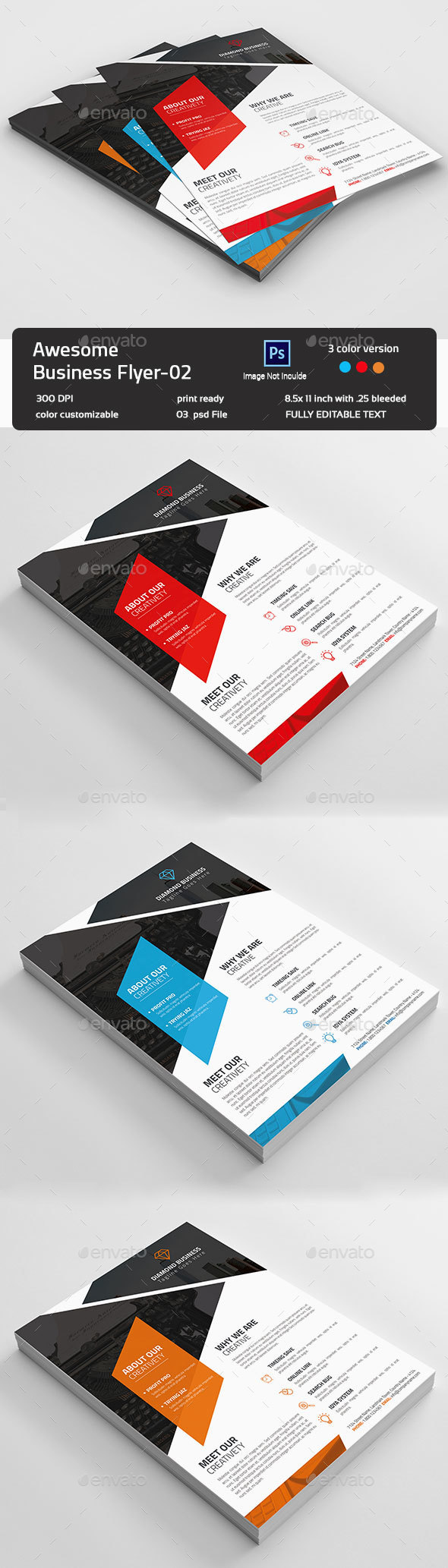 Awesome Business Flyer-02  - Flyers Print Templates