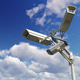 Security Cameras Against The Blue Sky - VideoHive Item for Sale