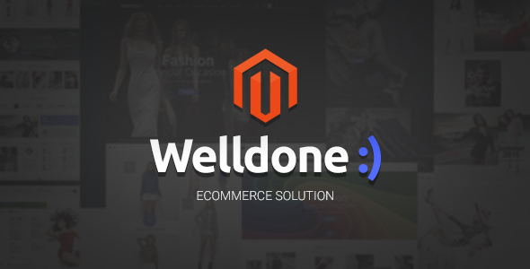 Welldone – magento material design theme