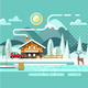 Nature Winter Landscape - GraphicRiver Item for Sale